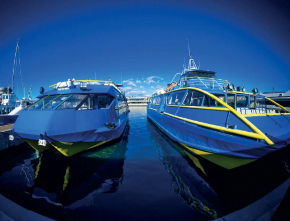 Les bateaux Saint-Raphael